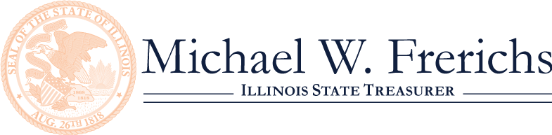 Michael W. Frerichs, Illinois State Treasurer Seal